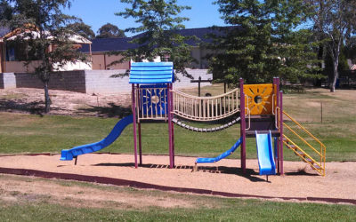 Children's playground upgrades and improvements to community parks
